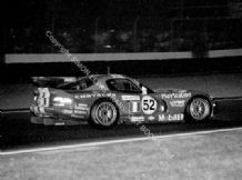 Chrysler Viper GTR-R (Archer/Duez/Huisman) Le Mans 2000 nightime.  Photo